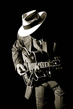 Guitar Man by Al Junco