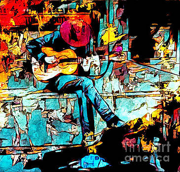 Guitar Man  by Lita Kelley