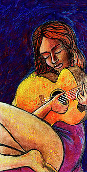 Woman in Song by Miko At The Love Art Shop