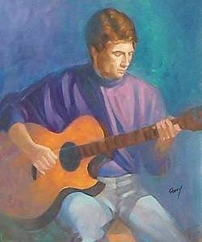 Guitar Player by Perry  Rubenstein