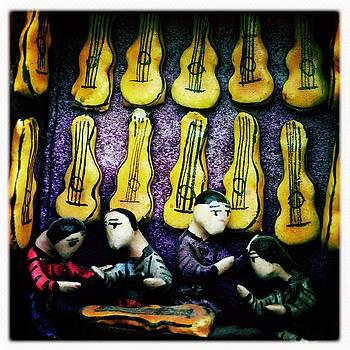 Guitar Shop by Anne Thurston