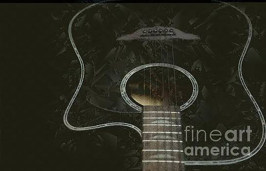 Guitar Sketch by Valerie Morrison