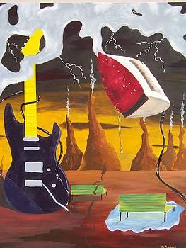 Guitar Surrealism by Sherri Ward