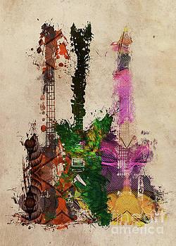 Justyna Jaszke JBJart - guitars art 2