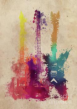 Justyna Jaszke JBJart - guitars art