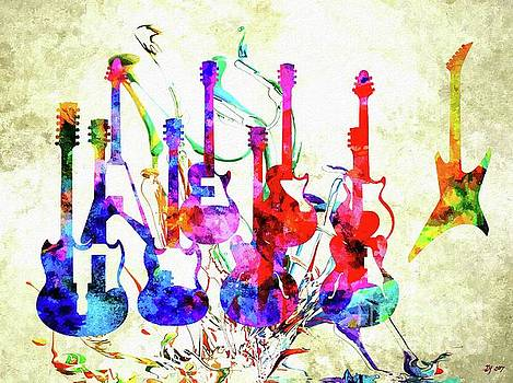 Guitars by Daniel Janda