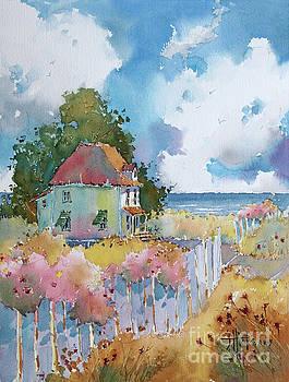 Gulf Coast Cottage by Joyce Hicks