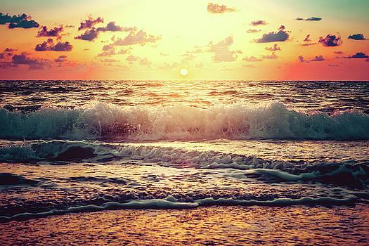 Gulf Coast Seascape by Debi Bishop