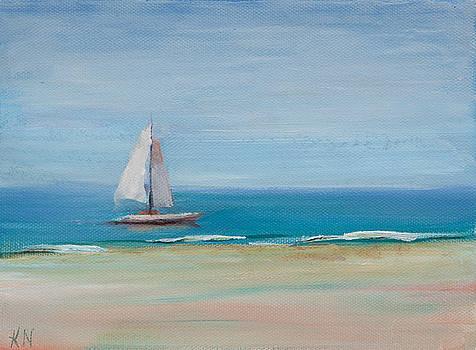 Gulf Sailing by Katherine Seger