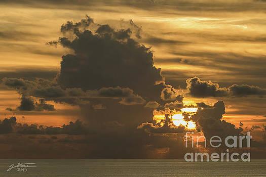 Gulf Sunset by Jeffrey Stone