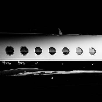 Gulfstream V Windows by Roberto Chiartano
