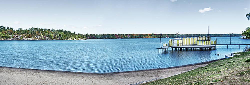 Gull Lake Panorama by JGracey Stinson