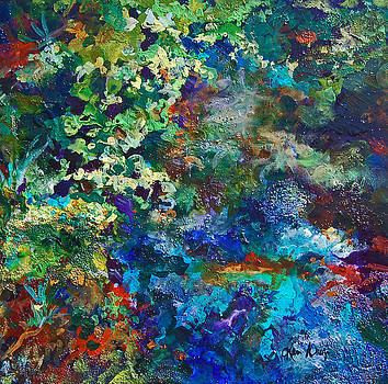Gulley Park Abstract by Karen Ahuja