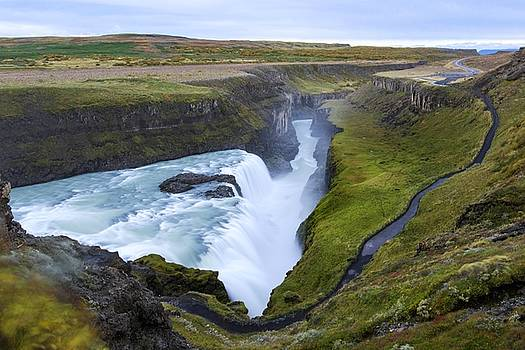 Gullfoss by Brad Scott