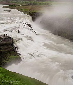 Gullfoss, Iceland - 1379,S by Wally Hampton