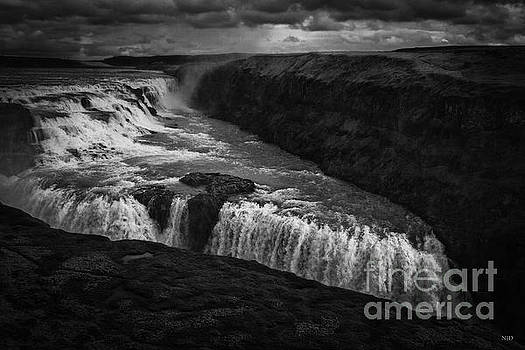 Gullfoss Waterfall by Nancy Dempsey