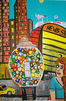 Gum Ball by Jeffrey Foti