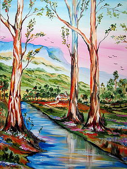 Gum Trees in Nsw by Roberto Gagliardi
