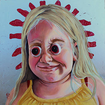 Gummy Eyes Swedish Fish by Kirsten Beitler