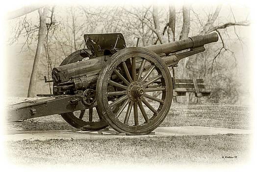Gun At Fort Howard by Brian Wallace