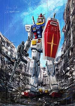 Andrea Gatti - Gundam Lingotto rifle
