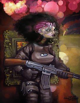 Gunner Girl by Adam Strange