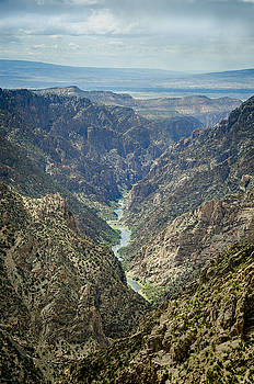 Gunnison River in Black Canyon, Gunnison, Colorado by Debbie Karnes