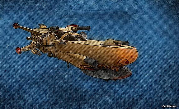 Gunship by Ken Morris
