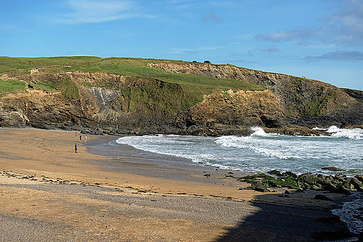 Gunwalloe Church Cove Beach by Rod Johnson