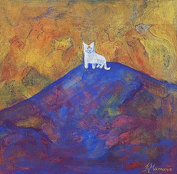 Guru Cat by Kate Maconachie