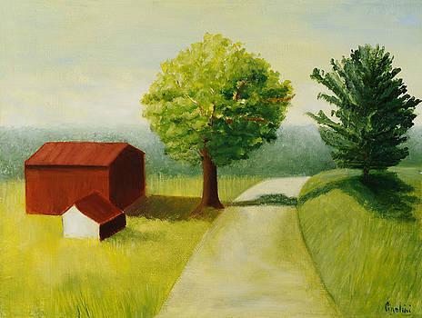 Gusky Road by Gloria Cigolini-DePietro