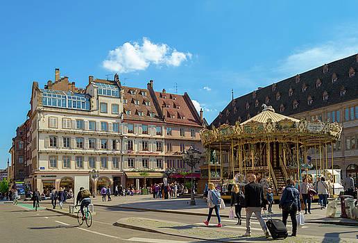Gutenberg Square, Strasbourg by Sinisa CIGLENECKI