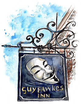 Guy Fawkes Inn In York by Miki De Goodaboom