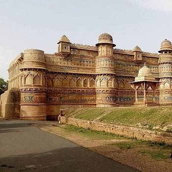 Gwalior Fort is An 8th-century hill by Rajesh Yadav