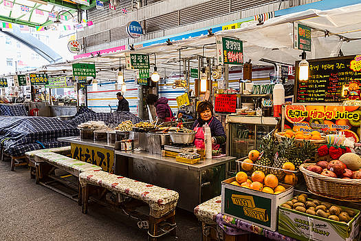 James BO Insogna - Gwangjang Market Views