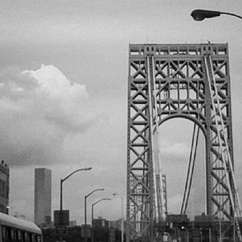 Gwb #newyorkcity #nyc #newjersey by Christopher M Moll