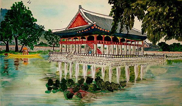 Gyeonbok Palace Seoul by Saran A N