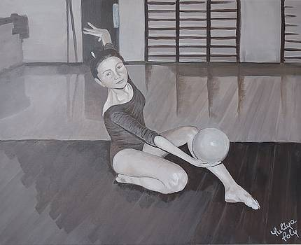 Gymnast by Yuliya Poly