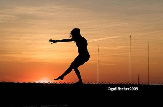 Gymnastics at Millennium Park 2 by Gail Fischer