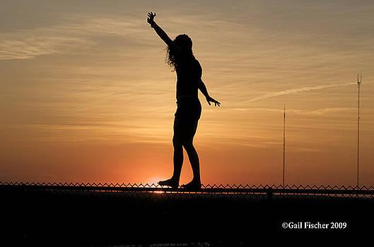 Gymnastics at Millennium Park by Gail Fischer