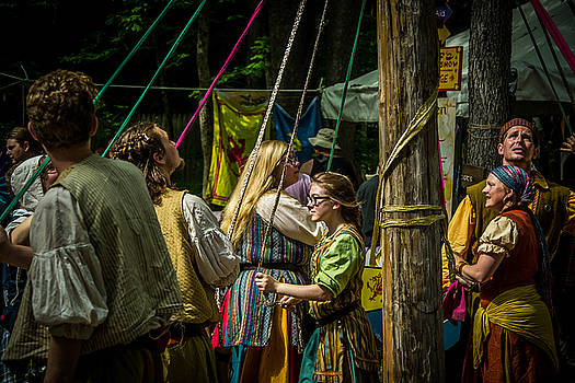Gypsies Around The Maypole by Kristy Creighton