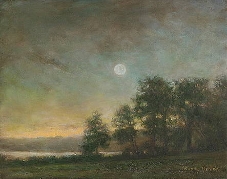 Gypsy Bay Moonlight by Wayne Daniels