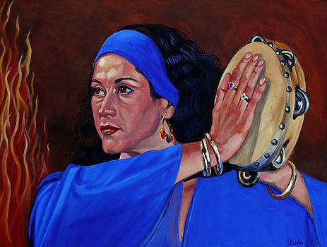 Gypsy Bonfire by Susan Duda