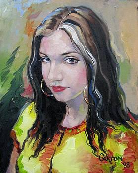 Gypsy Girl by Jerrold Carton