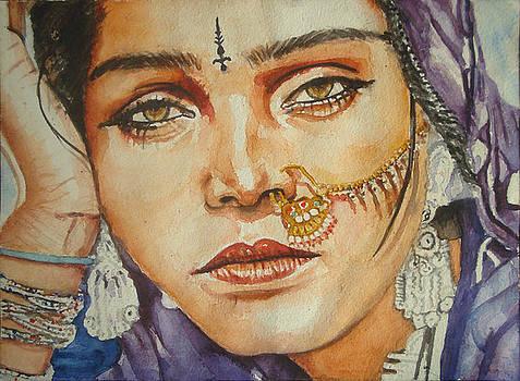 Gypsy lady by Sreenivasa ram Makineedi