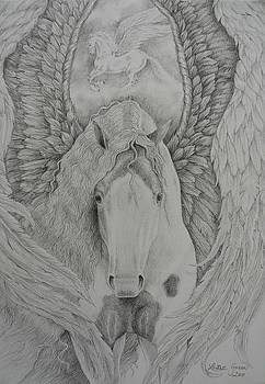 Gypsy Pegasus by Louise Green