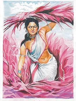Gypsy woman  by Vishal Chavan
