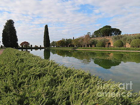 Hadrian's Villa 3 by Laurie Morgan