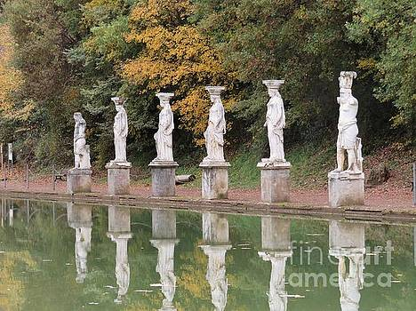 Hadrian's Villa 4 by Laurie Morgan