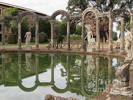 Hadrian's Villa 5 by Laurie Morgan